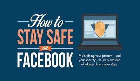 Cómo mantenerse seguro en Facebook [infografía] | Linguagem Virtual | Scoop.it