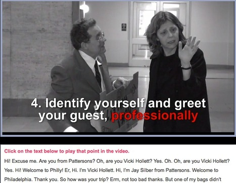 How to greet a visitor » Simple English Videos simple video by the fun  Vicky Hollet & her husband | Brainfriendly, motivating videos and audio to learn English A1 A2 beginners, pre-intermediate  (European standard) | Scoop.it