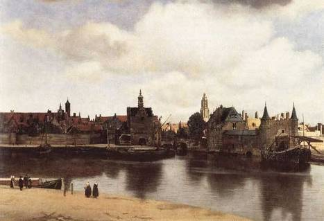 View of Delft (1660) By Johannes Vermeer   Uber art! A Topic on the Arts in Europe   Scoop.it