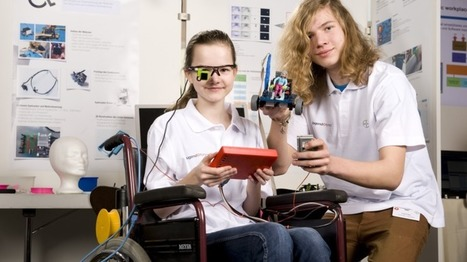 Eye-Controlled Wheelchair Advances from Talented Teenage Hackers | Heron | Scoop.it