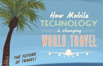 Infographic: How Mobile Technology is changing World Travel | Marketing Times | Scoop.it