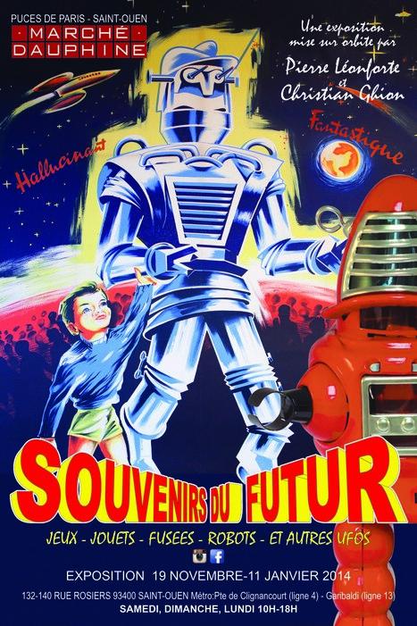 SOUVENIRS DU FUTUR   Marché Dauphine   Futuro House by Velvet Galerie.   Scoop.it