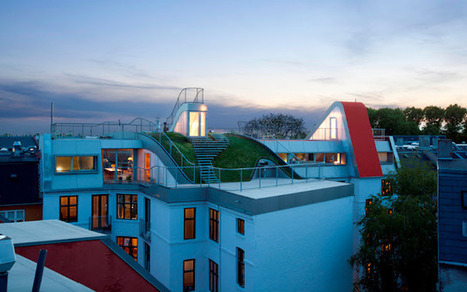 Bir / Hedonistic Rooftop Penthouses by JDS Architects | sustainable architecture | Scoop.it