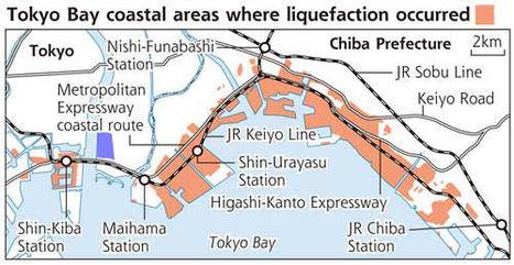 [Conséquences séisme] Liquéfaction du sol - 2 | Un gars à Edogawa | Japon : séisme, tsunami & conséquences | Scoop.it