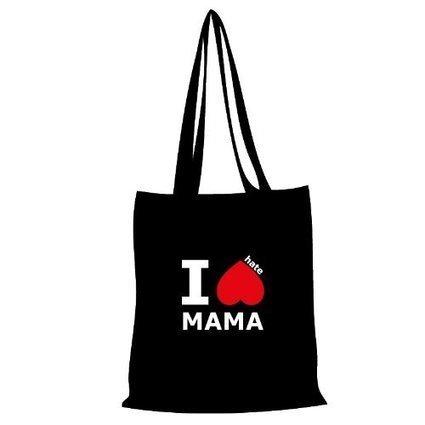 -1-   Baumwolltasche Tasche Bag — I hate MAMA | Günstige Einkaufskörbe | Scoop.it
