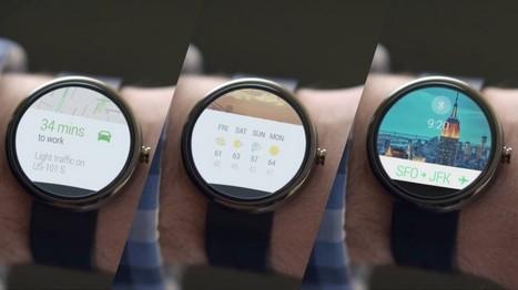 Avec Android Wear, Google ridiculise les autres montres connectées | toute l'info sur Google | Scoop.it