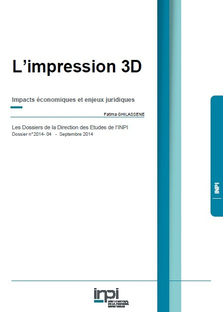 Une étude de l'INPI sur l'impression 3D | Replika | Scoop.it