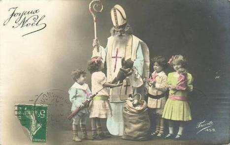 [cartes postales] Joyeaux Noël... de 1912 ! | Yvon Généalogie | Histoire Familiale | Scoop.it
