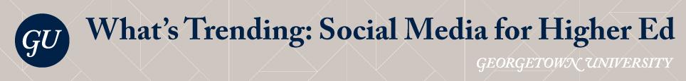 What's Trending: Social Media