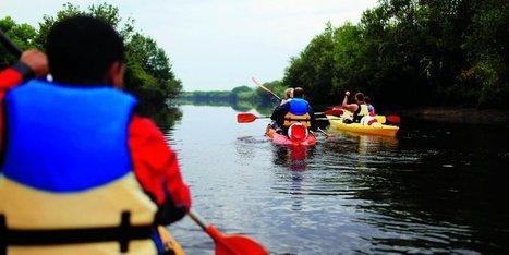 La Leyre face aux kayaks - Sud Ouest | Ecotourisme Landes de Gascogne | Scoop.it