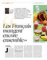 Les Français mangent  encore ensemble - itw sociologue Jean-Pierre Poulain  Libération | L'Ame des Chefs | Scoop.it