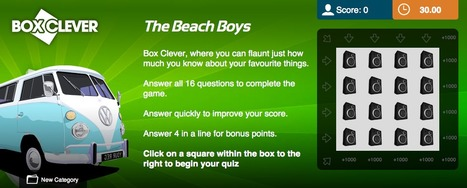 Beach Boys Quiz | Box Clever | QuizFortune | Quiz Related Biz - Social Quizzing and Gaming | Scoop.it