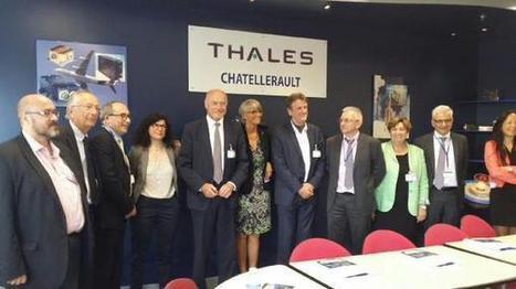 Visite du site #Thales à #Chatellerault @JFMacaire @al_rousset @CyrilCibert @VMassonneau #aeronautique cc @jpabelin | Chatellerault, secouez-moi, secouez-moi! | Scoop.it