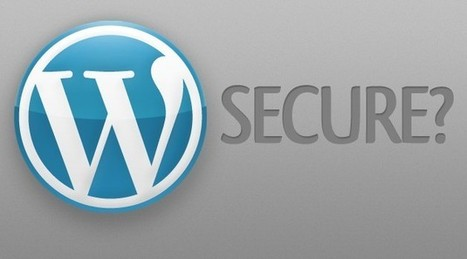4 Secrets to Have Fully Secured WordPress Blog Revealed | Beginner's Guide for Successful Blogging | Scoop.it