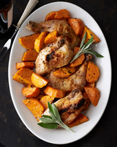 Roast Chicken with Butternut Squash Recipe - Quick From Scratch Italian | Food & Wine | À Catanada na Cozinha Magazine | Scoop.it