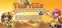 Teen Teen Khuyến Mãi 30% Giá Trị Thẻ Nạp Cực Hot | Game Mobile Hot | Scoop.it