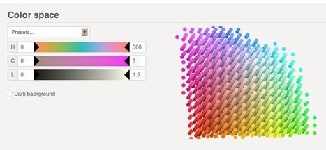 iWantHue : générer une palette de couleurs | Web information Specialist | Scoop.it