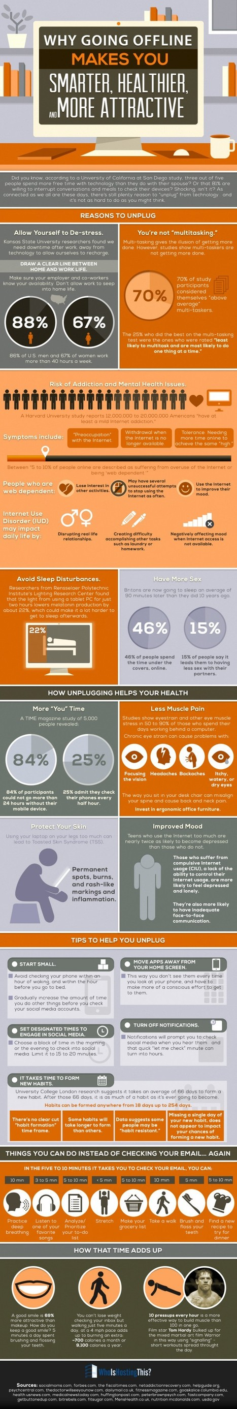 Why You Should Unplug -Infographic | Wiki_Universe | Scoop.it