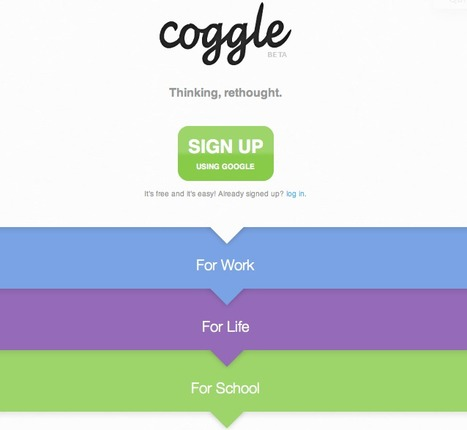 Coggle - Rethinking MindMaps and Sharing | Technology, Media and Education | Scoop.it