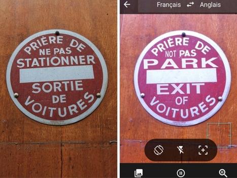 PHOTOS. On a testé l'appli Google Traduction dans les rues de Paris | Toulouse networks | Scoop.it
