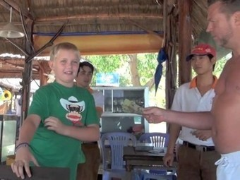 Kid Buys Shark with His $35 Then Releases It Into the Wild [Video] | Vertical Farm - Food Factory | Scoop.it