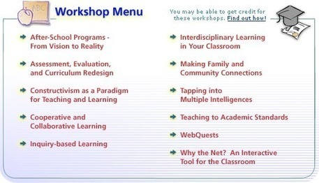 Concept to Classroom: Course Menu | ESL teaching and learning | Scoop.it