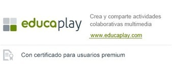 Curso de Educaplay - ADR Formación | Educacion, ecologia y TIC | Scoop.it