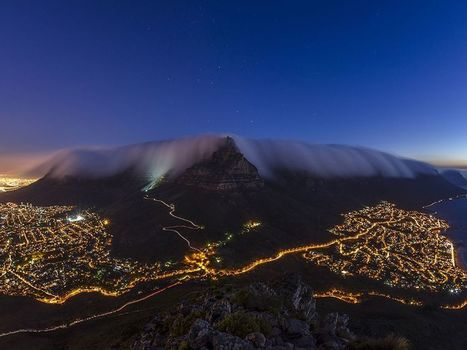 Table Mountain, Cape Town - National Geographic Photo of the Day | AP HUMAN GEOGRAPHY DIGITAL  STUDY: MIKE BUSARELLO | Scoop.it