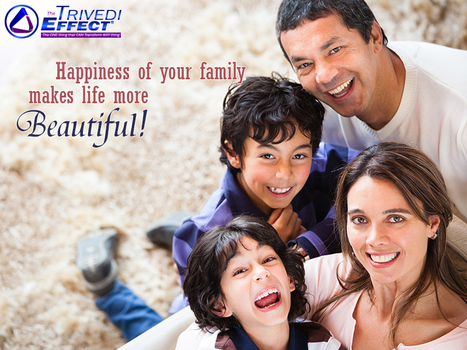 Explore the secret to a happy family through The Trivedi Effect® | Wellness | Scoop.it