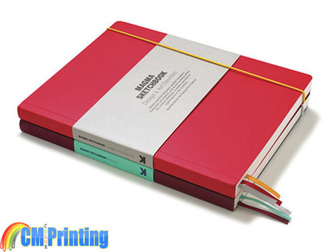 Custom printed sketchbooks services offered by CM Color Printing | printing services in China | Scoop.it