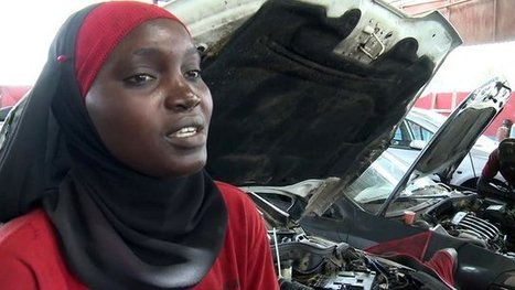 Female mechanics get in gear in Senegal | International aid trends from a Belgian perspective | Scoop.it