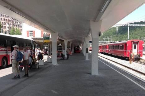 Bahnhof St. Moritz | Rhätische Bahn Today | Scoop.it