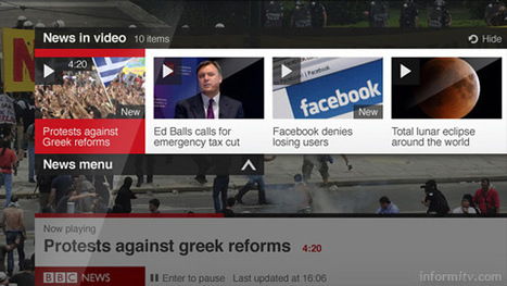 BBC News app reaches smart televisions | TV Everywhere | Scoop.it
