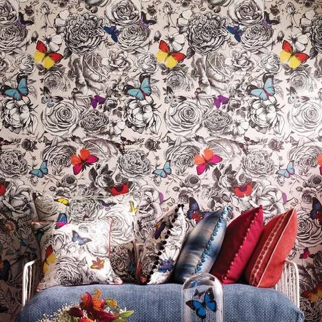 Collection Verdanta par Osborne & Little | PAPIER PEINT | Scoop.it