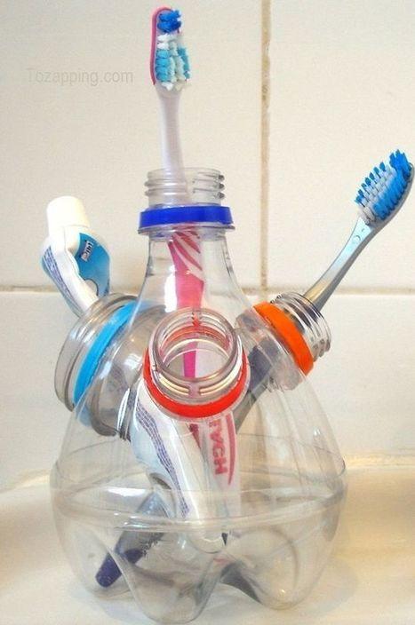 20 ideas para reciclar botellas de plástico. | Mil Ideas | Decoración de interiores | Scoop.it