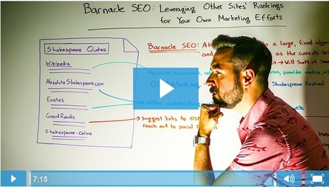 Barnacle SEO: Leveraging Other Sites' Rankings - Whiteboard Friday | SEO & Web Design Updates | Scoop.it