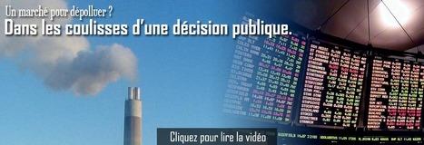 CED | Un marché pour dépolluer ? - Dans les coulisses d'une décision publique | Roshirached | Scoop.it