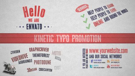 25 Amazing After Effects Kinetic Typography Templates | Artigos Apresentações | Scoop.it
