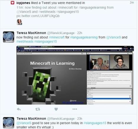 Minecraft MOOC rocks SLanguages 2015 | Mundos Virtuales, Educacion Conectada y Aprendizaje de Lenguas | Scoop.it