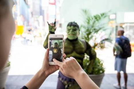 Show me the #AR money - Augmented Reality Gets Boost From Success of 'Pokémon Go' | Second Life and other Virtual Worlds | Scoop.it