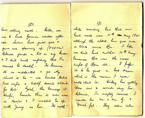London War Diary: Sunday 17th January 1942 (cont) (2)   London War Diary. Original written pages. 1940   Scoop.it