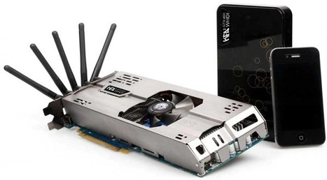 KFA2 NVIDIA GeForce GTX 460 WHDI graphics card is first to go wireless | All Geeks | Scoop.it