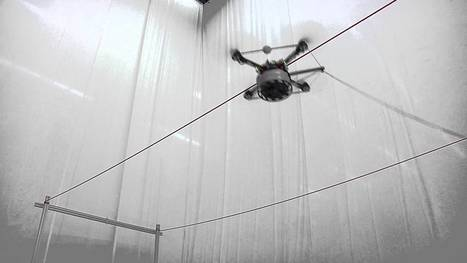 Building Tensile Structures with Flying Machines | AL_TU research | Scoop.it