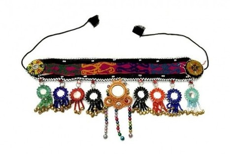 Belly Dance Mirror Jewelry Kuchi Tribes Unique Headdress Indie Girls Head Band | Buy Belly Dance Jewelry Tribal Fusion Bellywood | Scoop.it