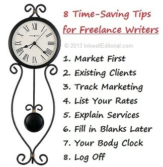 8 Time Management Tips for Freelance Writers That Can Increase Your Income by at Least 25% : Inkwell Editorial | Online Writing | Scoop.it