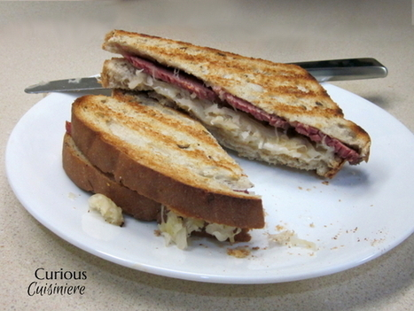 The Classic Reuben and Homemade Russian Dressing - Curious Cuisiniere | food | Scoop.it