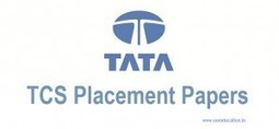 TCS Placement Paper with Solutions for Freshers and Experienced 2014 | Career, Placement and Jobs | Scoop.it