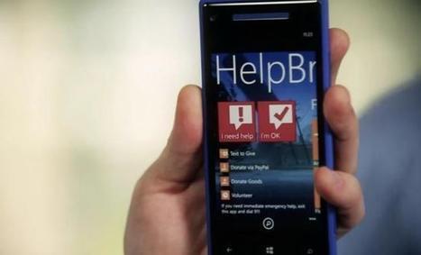 Microsoft lanza Helpbridge, una aplicación móvil multiplataforma para ayudarnos en caso de desastre natural | Diario de Sistemas y Computación USAT | Scoop.it