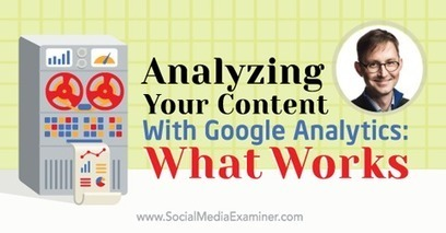 Analyzing Your Content With Google Analytics: How to Know What Works | Technology and Teaching | Scoop.it