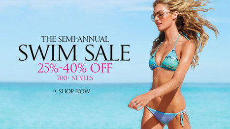 Sexy Swimwear at Victoria's Secret; Bikinis, Swimsuits, Bathing Suits & More | Nancy's Fashion collection | Scoop.it